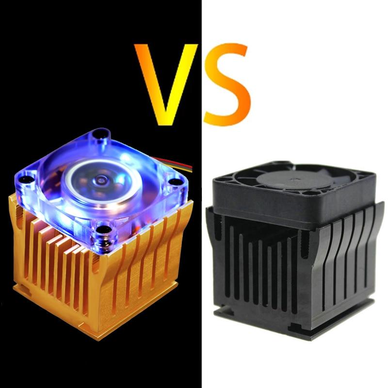 Алюминиевый радиатор Northbridge радиатор для материнской платы с вентилятором 4 см для ПК, чехол для компьютера, охлаждение чипсета