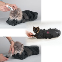 Cat Grooming Bathing Pet Cat Beauty Dressing Bag Pet Cleaning Bag Cat Package Portable Bag Breathabl