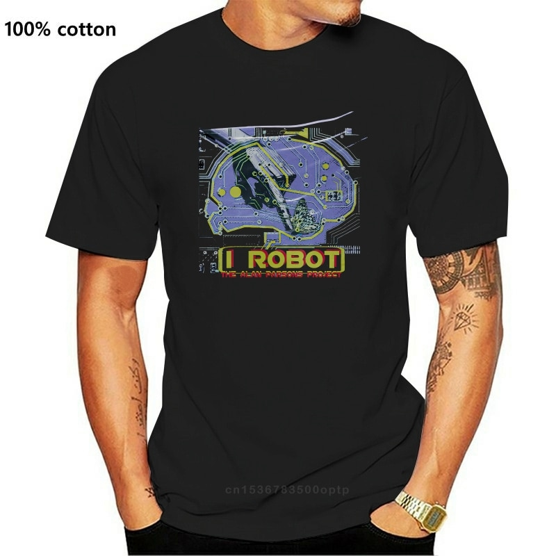 Camiseta de I Robot Alan Parsons Project para hombre y mujer, Top