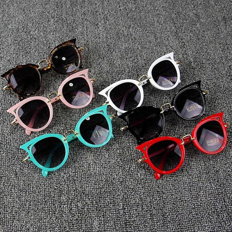 Toddler Kids Gradient Sunglasses Children Baby Brand Vintage Oversized Glasses