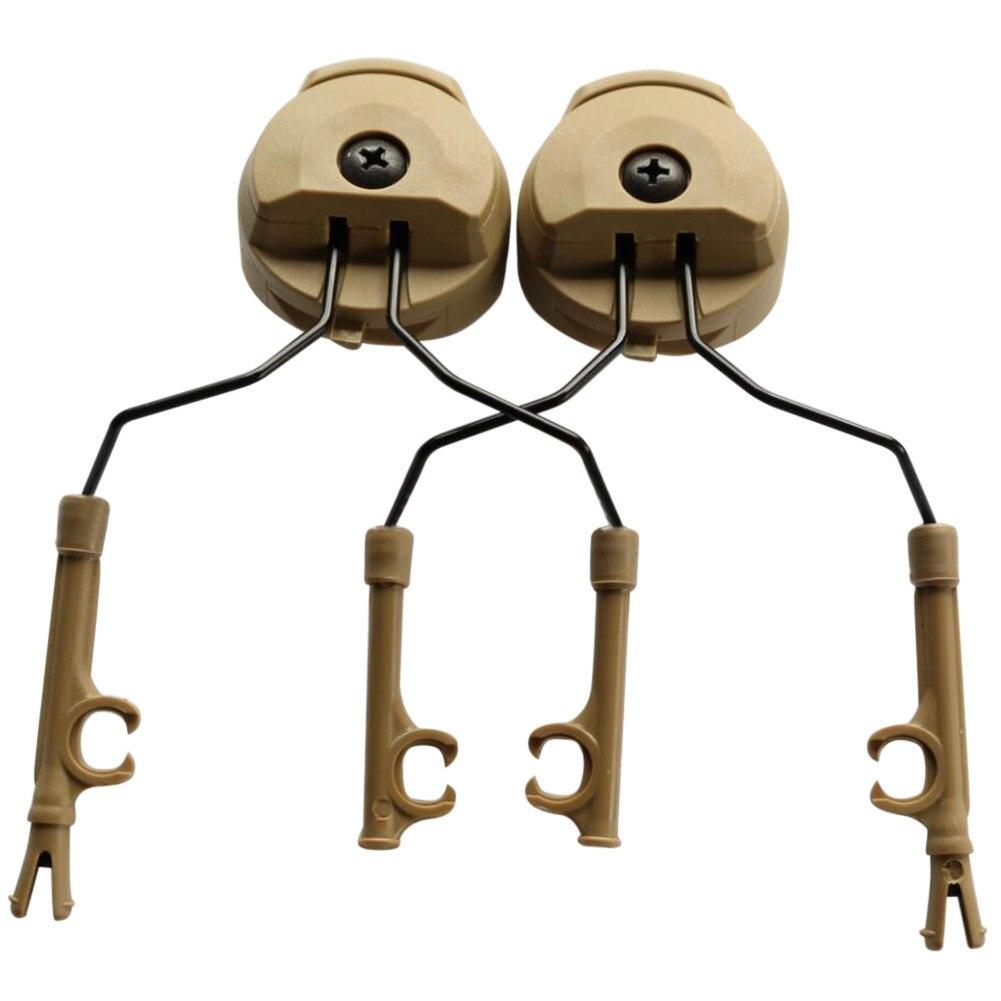1 par 3M Peltor ARC Rail Adapter Kit de fijación para todos los cascos balísticos de riel ENA88
