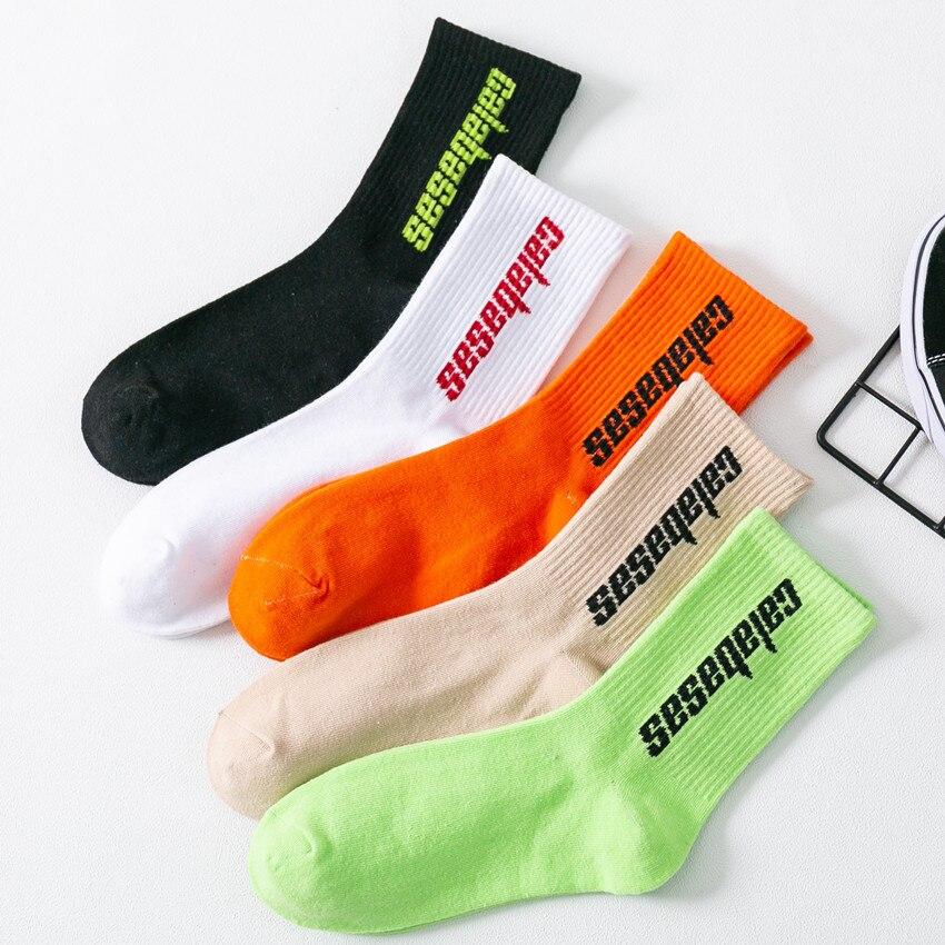 Calcetines deportivos de moda para mujer, calcetines para montar en monopatín, nuevos productos, calcetines de algodón recomendados, estilo hip hop