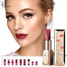 Pudaier Matte Lipstick Waterproof Makeup Batom Nude Velvet Long Lasting Lapiz Labial Mate Lip stick Rouge a Levres Mat Szminka