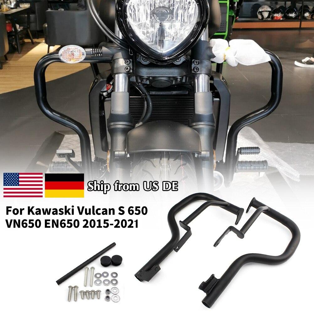 مصد لحماية محرك الدراجة النارية كاواساكي فولكان S 650 VN650 EN650 2015 16 17 18 2019 2020 2021