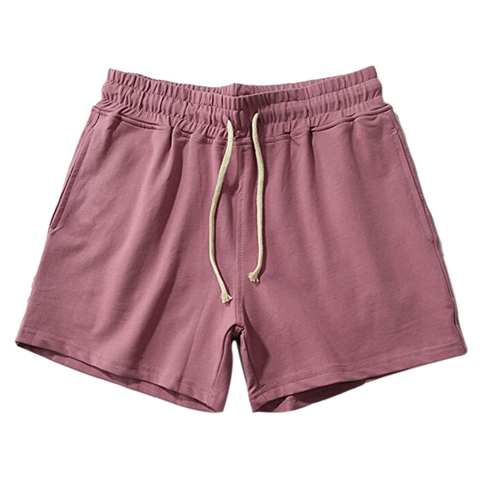 Men's Summer Shorts 2020 Elastic Drawstring Casual White Black Shorts Streetwear Jogger Gym Running Shorts