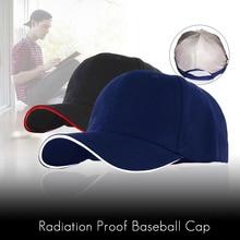 Anti Radiation Cap EMF Protection Hat RF/Microwave Protection Baseball Cap Unisex Rfid Shielding Hat