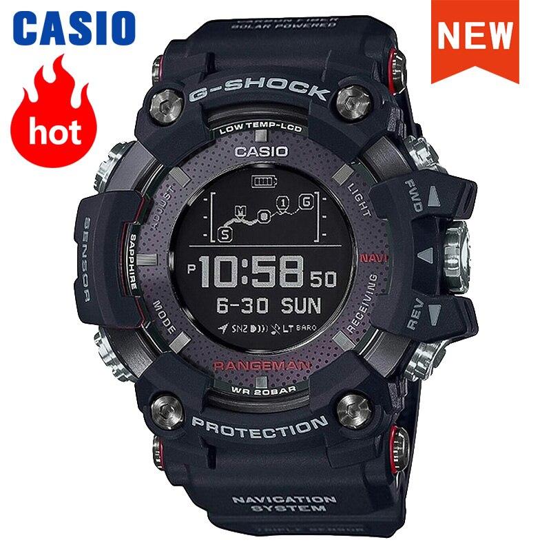 Casio Watch men G-SHOCK men watch Triple sensor GPS Bluetooth Radio Receiver Watch relogio masculino reloj mujer GPR-B1000-1