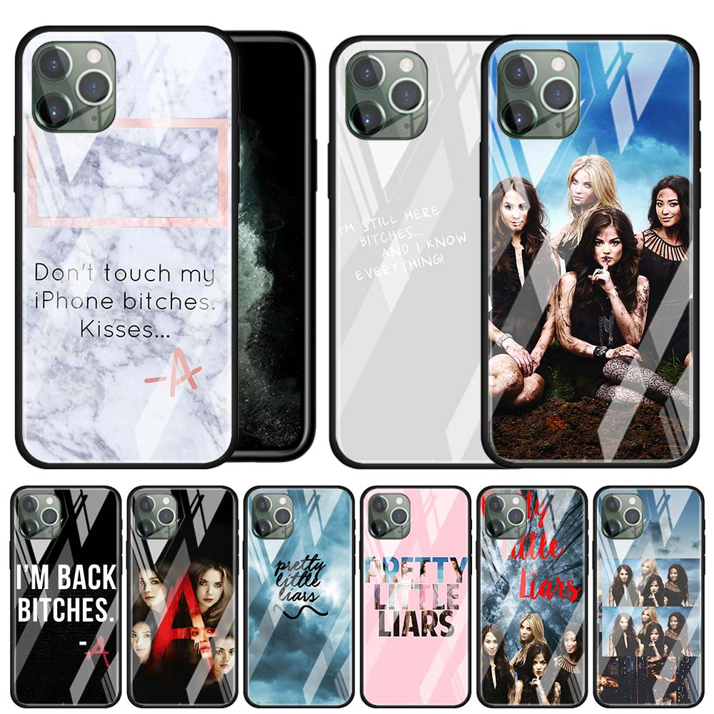 Чехол из закаленного стекла Pretty Little Liars для Apple iPhone 11 Pro MAX X XR XS MAX 6 6S 7 8 Plus SE 2020