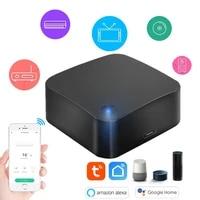 Tuya     telecommande universelle intelligente IR WiFi  pour Android ios  compatible avec Alexa Echo Google Home Assistant
