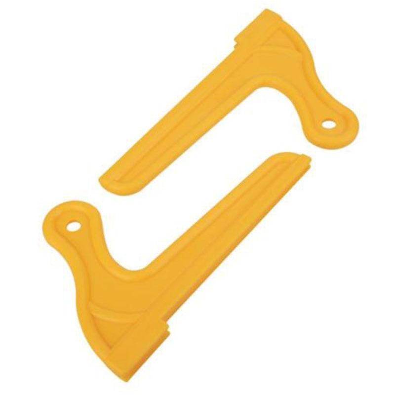 2 uds amarillo madera VI empujar palo para carpintería de trabajo de la Mesa enrutador blade