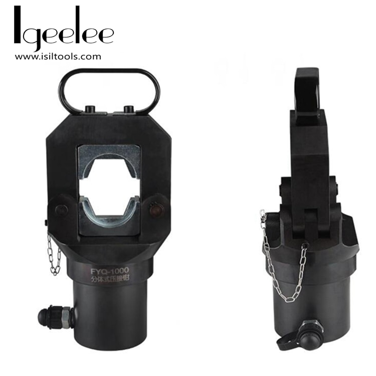4-1000 mm2 cabezales de prensado hidráulicos FYQ-1000 cabeza de compresión hidráulica