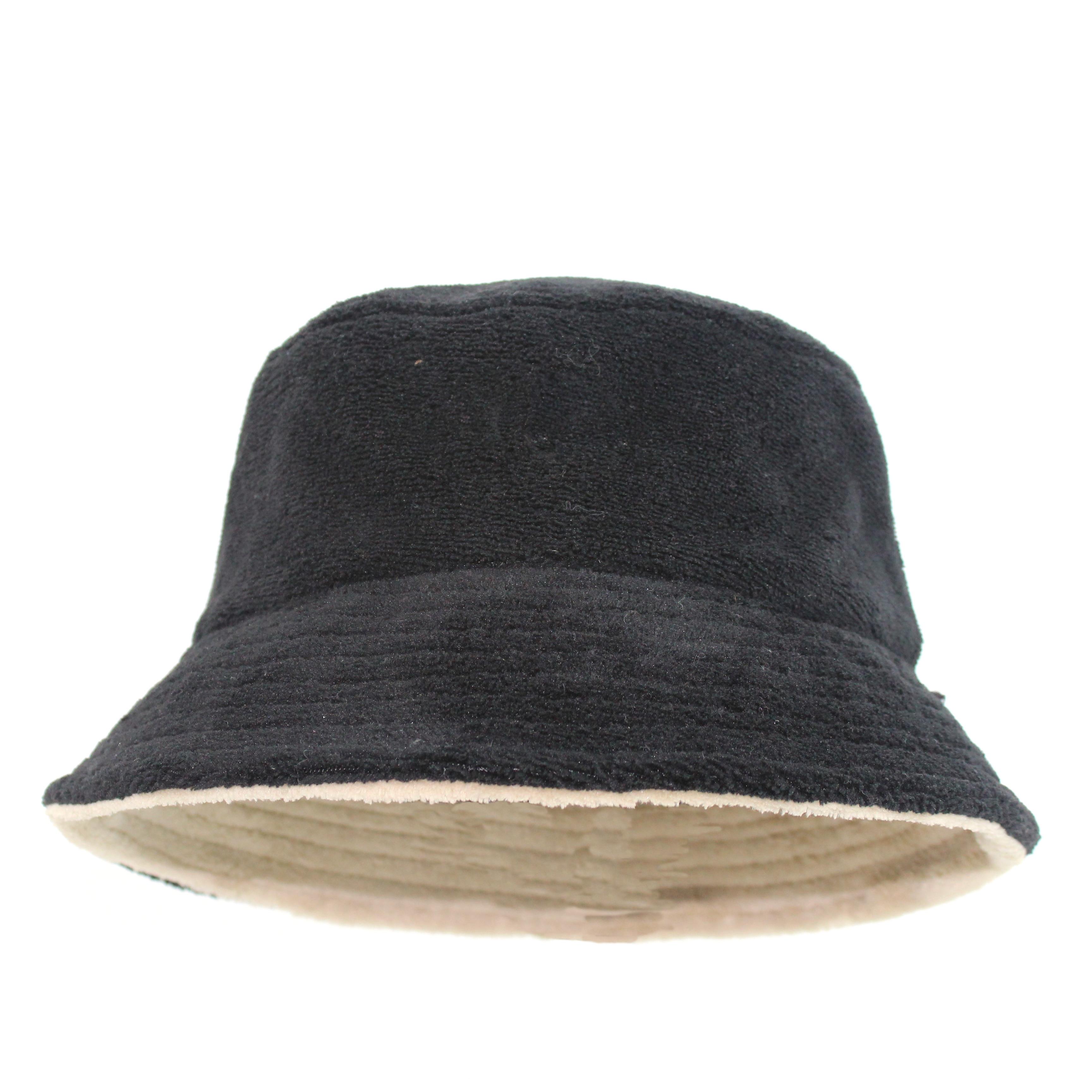 Otoño Invierno mujeres grueso cálido lana de cordero cubo sombreros y gorra de béisbol Casual sólido plano Top Cap mujeres niñas