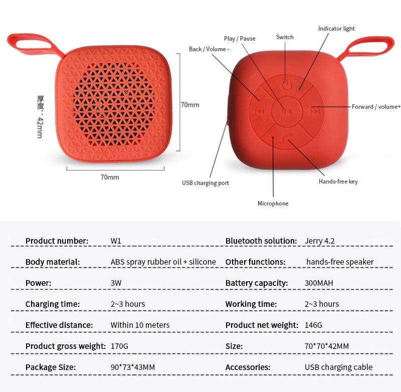 Bluetooth Speakers Mini Portable Wireless Loudspeaker 3D Stereo Surround Column Call Hands-free Subwoofer Speaker Outdoor enlarge