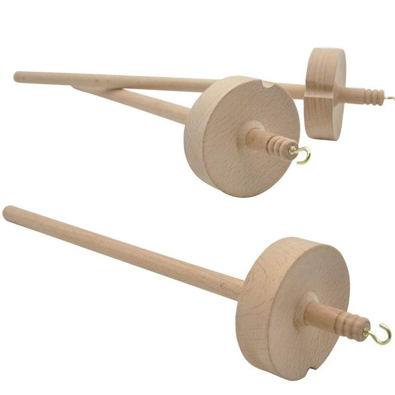 1Pcs Drop Spindel Top Quirl Garn Spin Hand Geschnitzte Holz Werkzeug Geschenk für Anfänger Drop Spindel Hand Spinning