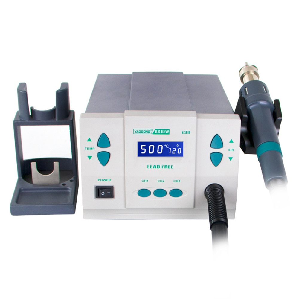 Electric Soldering Iron Heat Gun Better Rework Station Lead-Free 1000W Suitable for 861dw