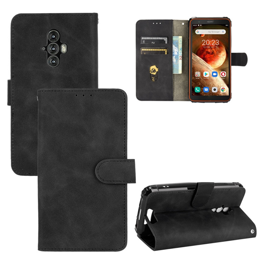 For Blackview BV6600 Case Luxury Flip PU Leather Card Slots Wallet Stand Case For Blackview BV6600 B