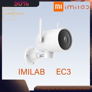 Imilab EC3 Waterproof IP Camera Update 2K HD Night Vision Camera HUman Dection Cctv Video Surveillance Camera