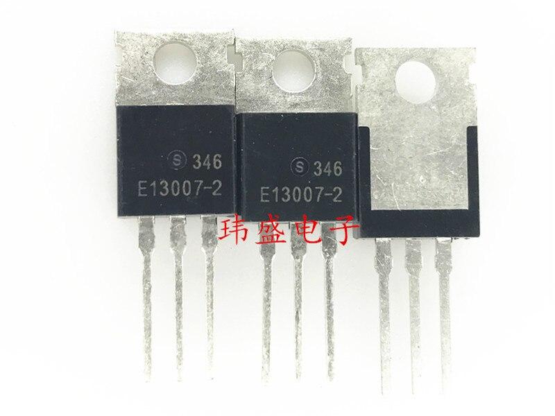 10 unids/lote FJP13007 TO220 J13007 MJE13007 J13007-2 nuevo original en Stock