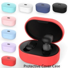Earphones Protective Cover Case Silicone Drop Protection Sleeve Non-slip Protective Case Earpods Accessories Headset Protective