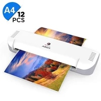 professional thermal office laminator machine for a4 document photo blister packaging plastic film laminator with 12 laminating
