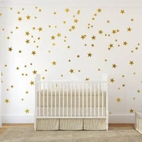 heart dots star wall stickers diy vinyl wall decor for kids rooms wall decals baby nursery baby boys girls bedroom home decor