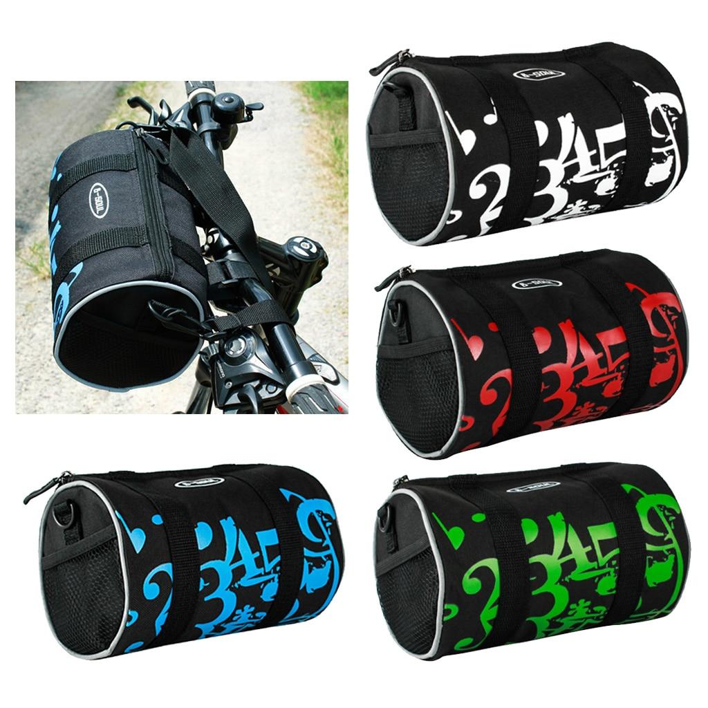 Велосипедная сумка MTB дорожный велосипед руль прочный рулон пакет на молнии мешок