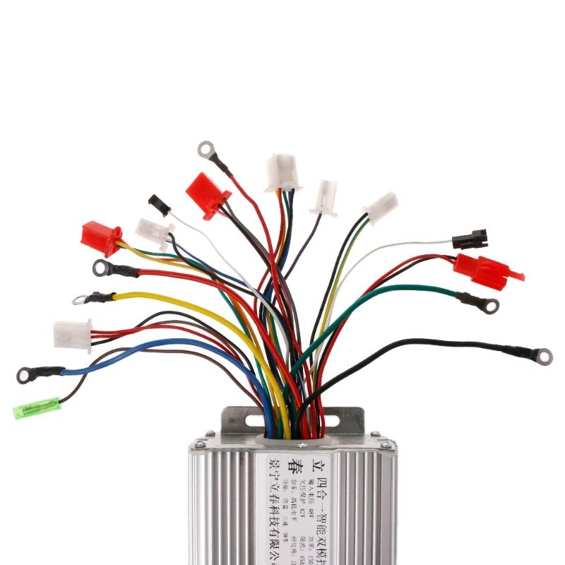 وحدة تحكم في السرعة بدون فرش للدراجة الكهربائية 48 فولت 1500 وات DC