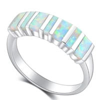 fashion glamour romantic opal mens womens holiday gift ring boutique jewelry jewelry wholesale