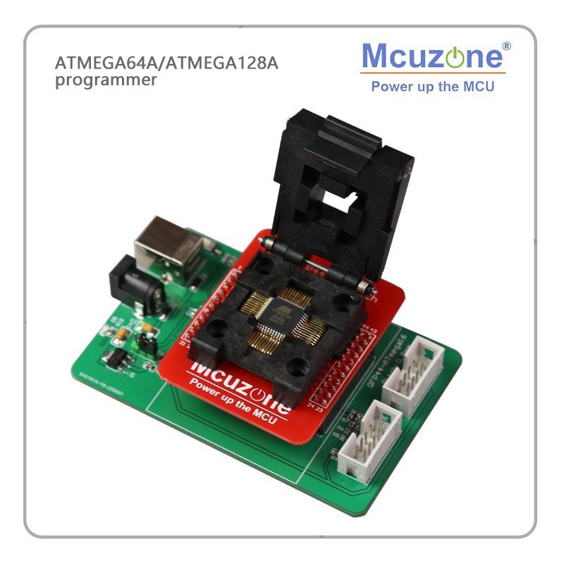 USB AVR ATMEGA64A/ATMEGA128A مبرمج محول JTAG ISP