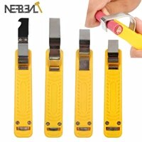 1pcs portable wire stripper knife pvcrubberptfe silicone 8 28mm cable decrustation pliers mini electrician knife