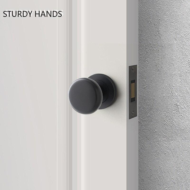 سبائك الزنك وحيد الوجهين مقبض الباب قفل الحمام بدون مفتاح كتم قفل باب داخلي واحد اللسان Lockset المنزل إكسسوارات الأجزاء الداخلية للكمبيوتر