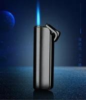 windproof gas jet lighter butane turbo torch lighter for cigar cigarette metal 1300 c fire lighter inflated gadget for man