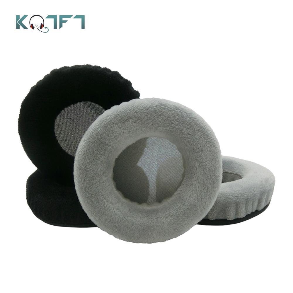 KQTFT, 1 par de almohadillas de terciopelo de repuesto para Pioneer SEMJ561BTS SE MJ561BT S, almohadillas para auriculares, funda para orejeras, almohadillas para cojines