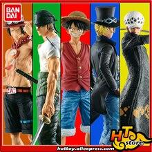 100% Original BANDAI esprits MASTERLISE 20th histoire Collection Figure-singe D. Luffy Law Zoro Sabo Ace de
