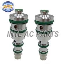 Válvula de Control de compresor de aire AC A/C Universal para coche 36,5-38,5 verde