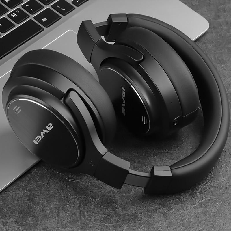 A950BL ANC deporte Wilreless de Metro de reducción de ruido auriculares Bluetooth profunda Bass HiFi impermeable para iPhone Xiaomi OPPO