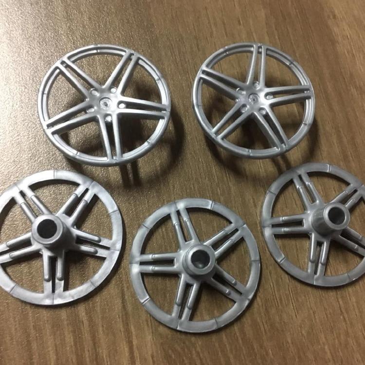 8 unids/lote DECOOL Technic cubierta de ruedas de coche Compatible con 54086 ladrillos MOC bloques partes Juguetes