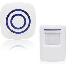 One For One Multifunctional Sensor Doorbell Wireless Alarm System With Motion Detector Access Alarm