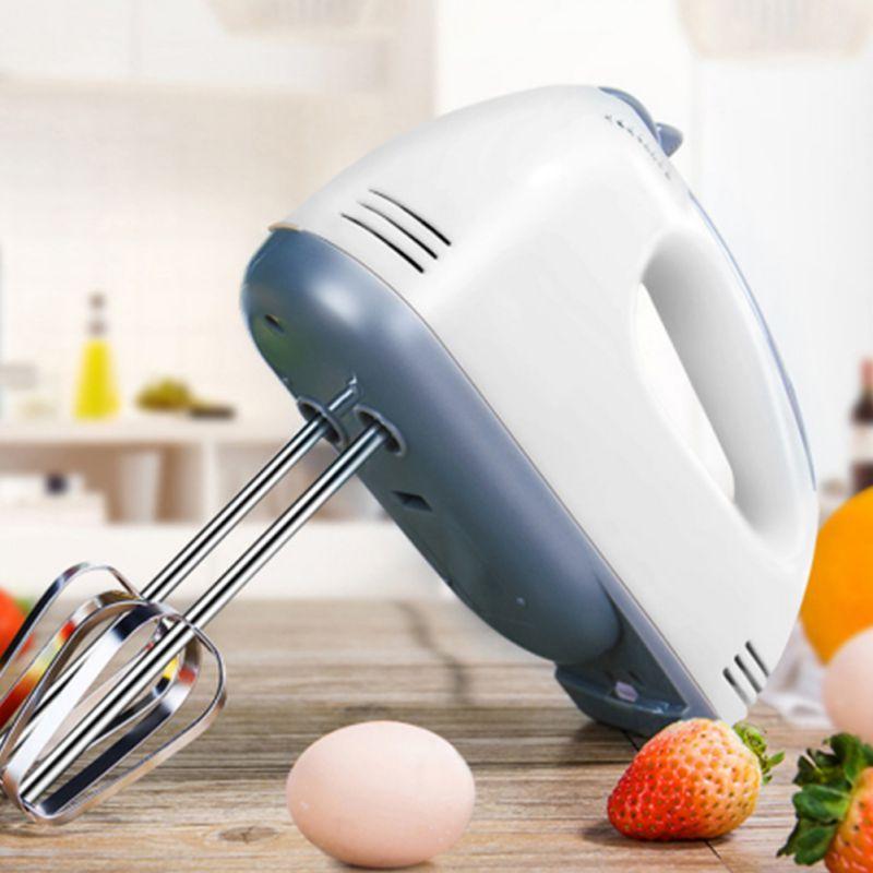 Batidores de huevos eléctricos de 7 velocidades, batidor automático de huevos, crema para el pelo, batidora de masa para Muffins, máquina para hacer alimentos