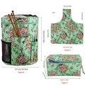Пустая сумка для вязания крючком, ручная сумка для хранения вязаных крючков и вязальных иглы, швейные инструменты для мам