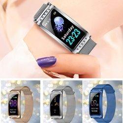 F28 tela colorida inteligente monitor pulseira à prova dmulti água multi-esporte modo 105 mah lembrete de informações monitoramento 2020