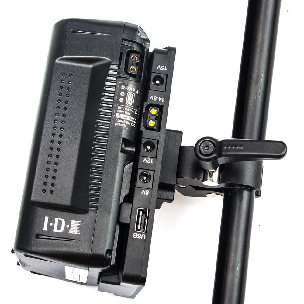 FOTGA V-Lock Power Supply Systerm D-tap Battery Plate Adapter V Mount Plate for Broadcast SLR HD camera enlarge