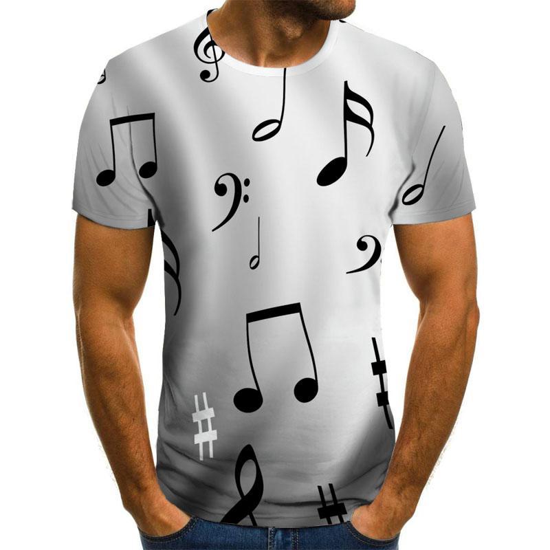 Фото - 2021 New T-Shirt Men'S Music Symbol T-Shirt 3d Guitar T-Shirt Shirt Printed Gothic Anime Clothing Short-Sleeved T-Shirt 110-6xl 2021 latest hot sale 3d cartoon print short sleeved t shirt harajuku t shirt 110 xxs 6xl