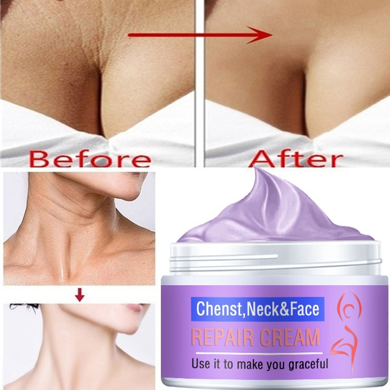 Neck Firming Wrinkle Remover Cream Rejuvenation Firming Skin Whitening Moisturizing Shape Beauty Nec