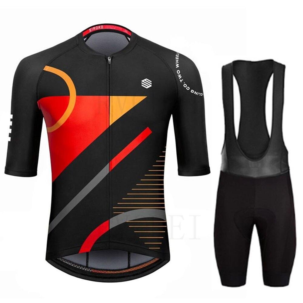 Siroko-Ropa de Ciclismo para Hombre, Maillot para bicicleta de montaña, triatlón, verano, 2022