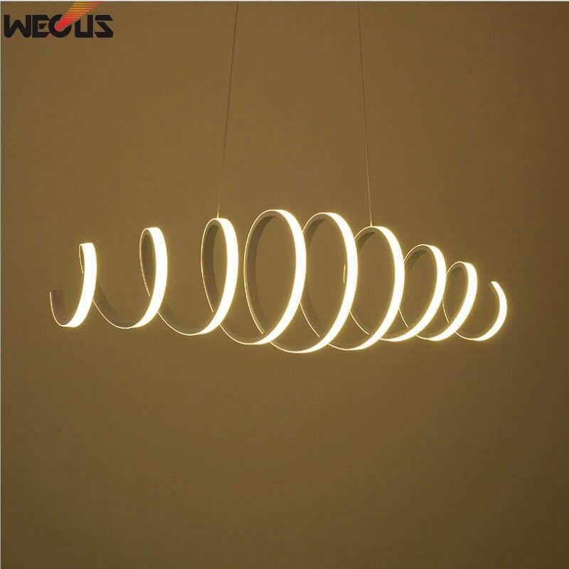 (Peut étiré) lampe pendante de salon de personnalité moderne, lampe pendante créative de barre/café, lampe de printemps-salle à manger dart,
