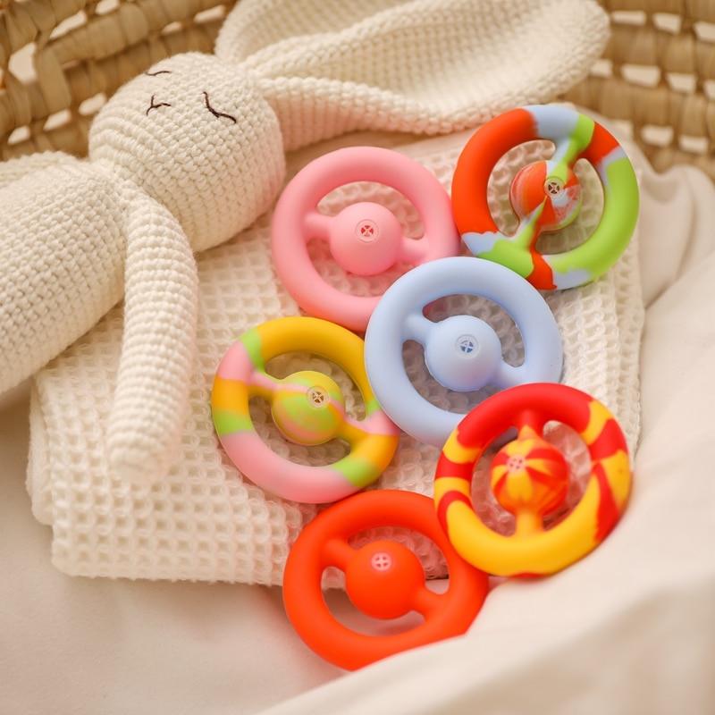1pc Squeeze Unzip Toy Suction Cup Decompression Grip Ball Hand Grip Ring Sensory Autism Stress For Kids Adult Antistresse Toys enlarge