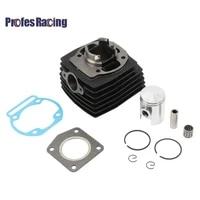 39mm 12mm motorcycle cylinder piston ring bearing gasket kit for morini 50 50cc mini moto pit dirt bike