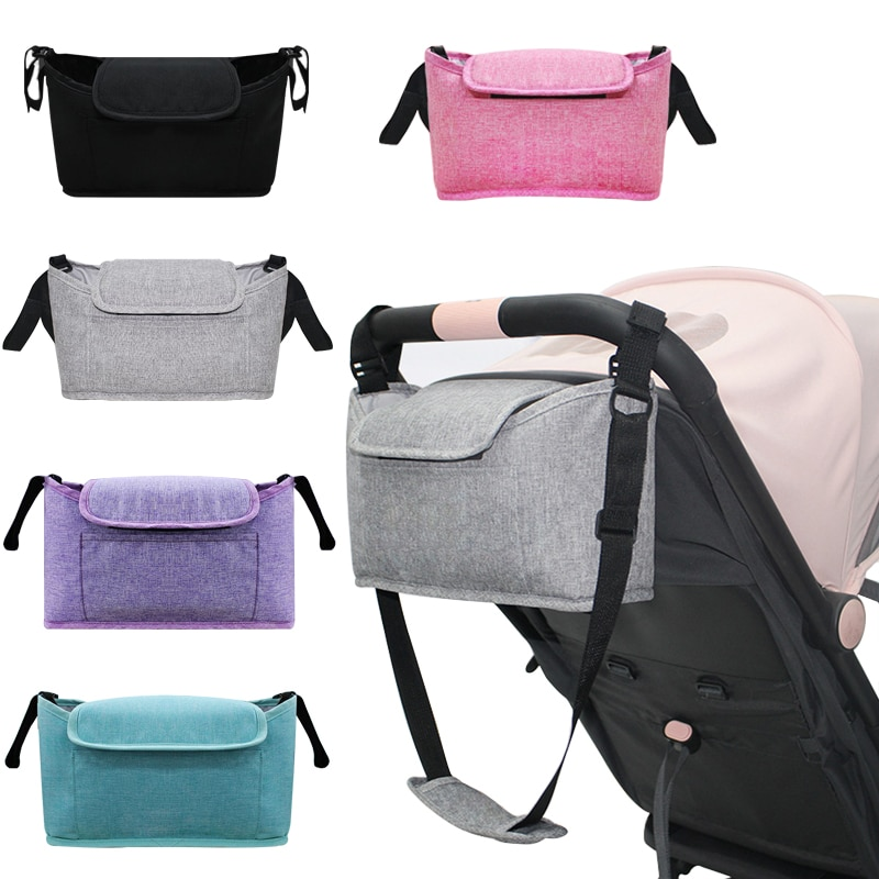 Stroller Bag Pram Stroller Organizer Baby Stroller Accessories Stroller Cup Holder Cover Trolley Org
