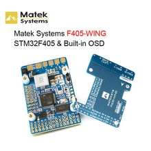 Matek Systems F405-WING TM32F405 Built-in OSD Flight Controller for RC FPV Racing Drone RC Quadcopte
